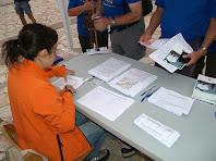 Recollint la documentació després de la inscripció