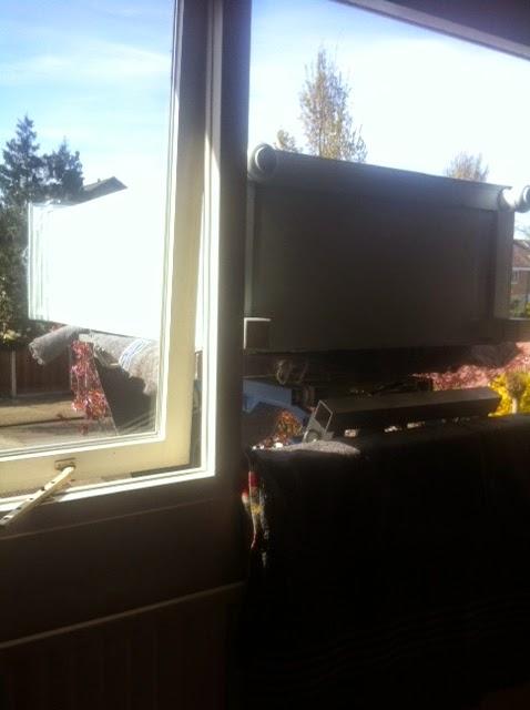 De kast moest via het raam naar binnen