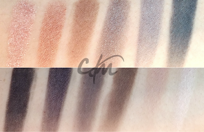 swatches naked smoky urban decay