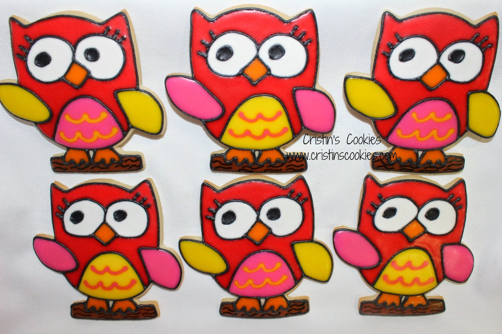 Owl Decorated Cookies Cristins Cookies Obsession With Owls Owl Cookies Free