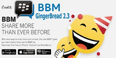 BBM Versi Resmi Untuk Android Gingerbread