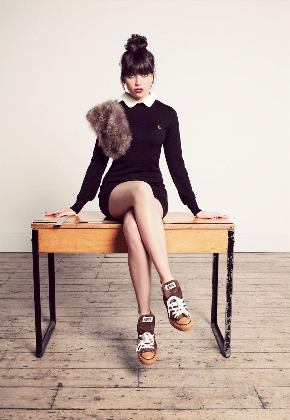 All carito fashion september 2012 - Daisy Lowe For Bape Woman Saw