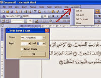 Download Qur'an In Word  terbaru 2015 full version