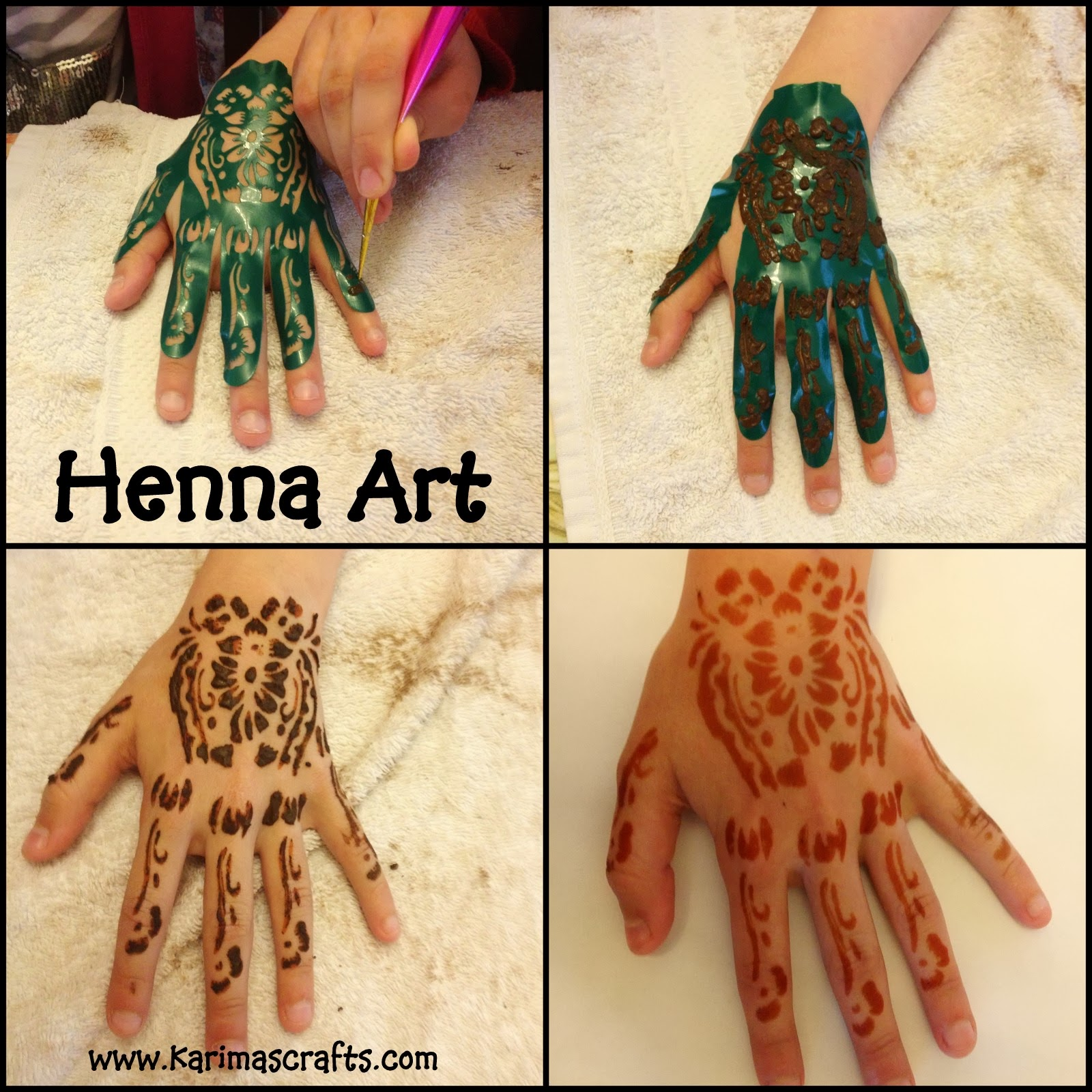 Karima39s Crafts Henna Crafts 30 Days Of Ramadan Crafts