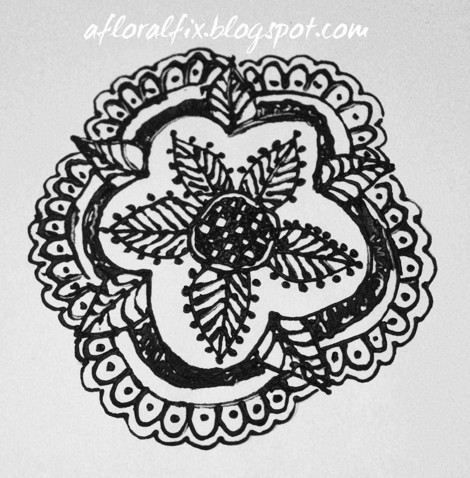 A Floral Fix Henna 2