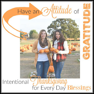 Attitude of Gratitude challenge and link-up