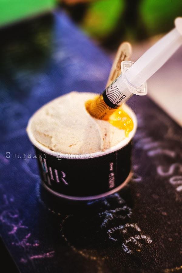 Elicxir Artisan Gelato - Toast My Jam flavour (Culinary Bonanza)