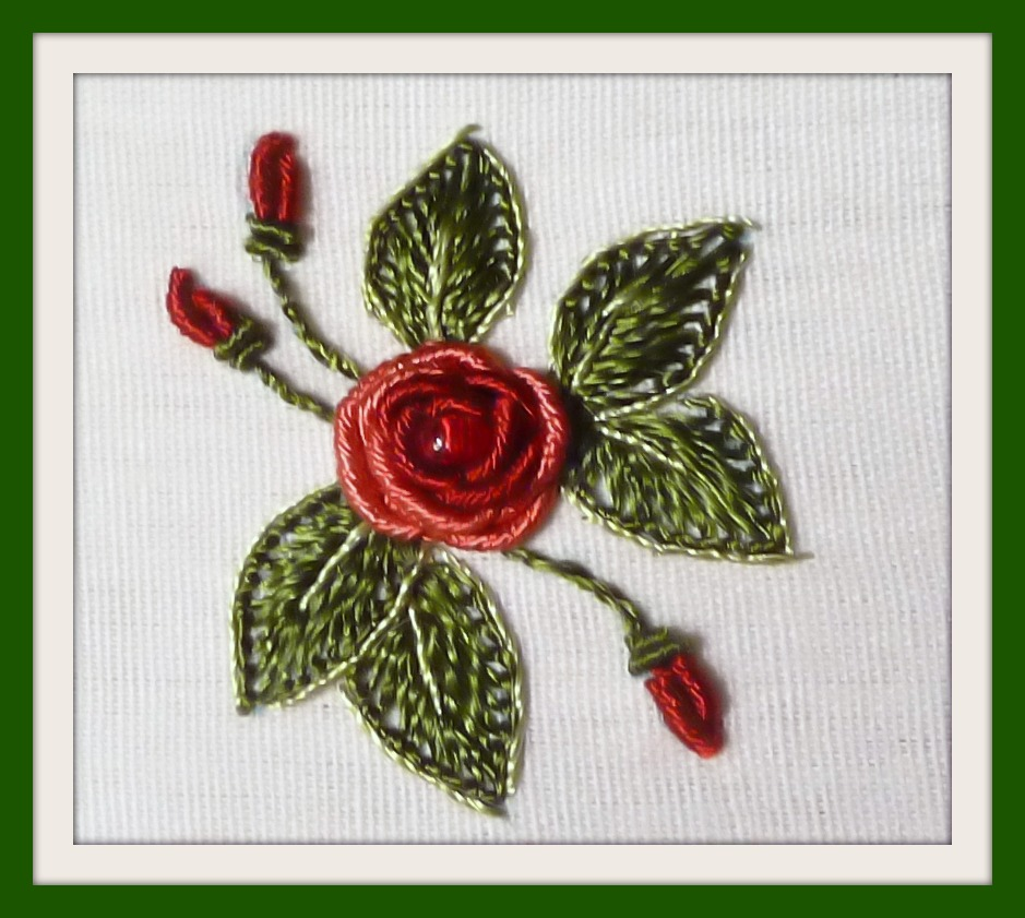 RosalieWakefieldMillefiori The Bossa Nova Rose