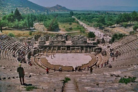 Efes Antik Kenti Türkiye Kültür Turizmi