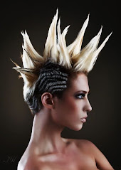 Keely Webster Has been signed by L'Oreal for all USA 2012 ProfessionalCatwalk Hair shows