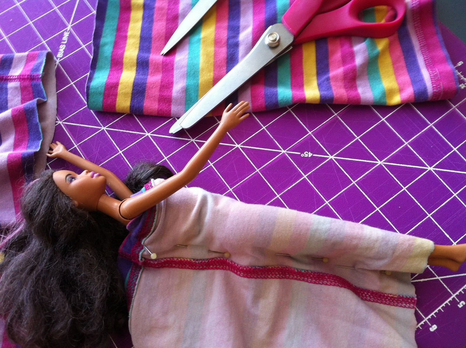 Uncategorized How To Make Barbie Doll diy eco craft easy to make barbie doll clothes little speckled clothes