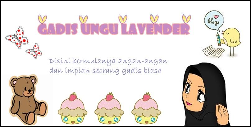 GADIS UNGU LAVENDER