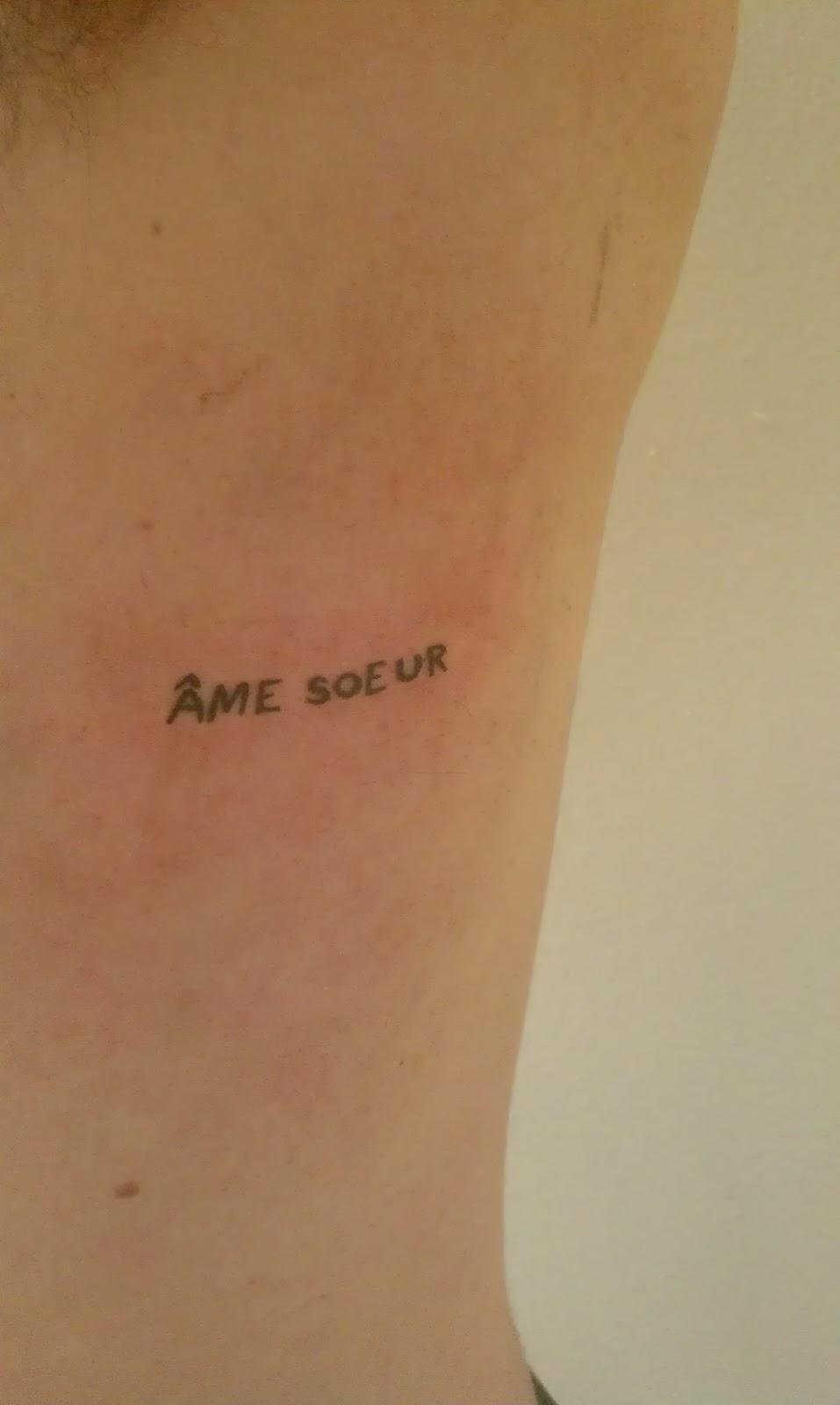Soulmate Symbol Tattoo Soul mate tattoos - viewing
