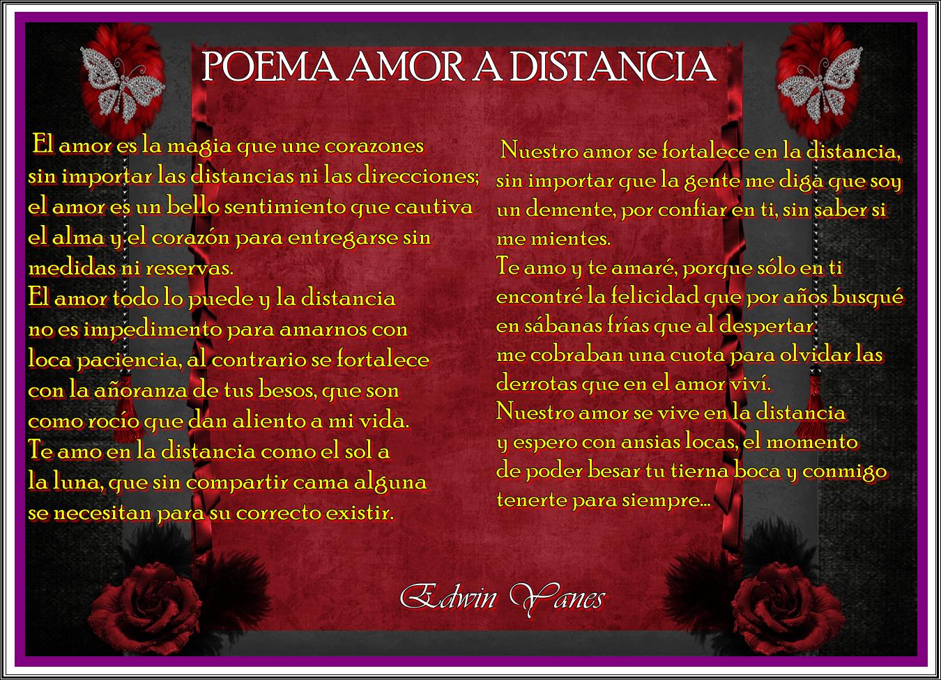 Frases De Amor A La Distancia Poemas De Amor A Distancia Para Dedicar A Tu Pareja