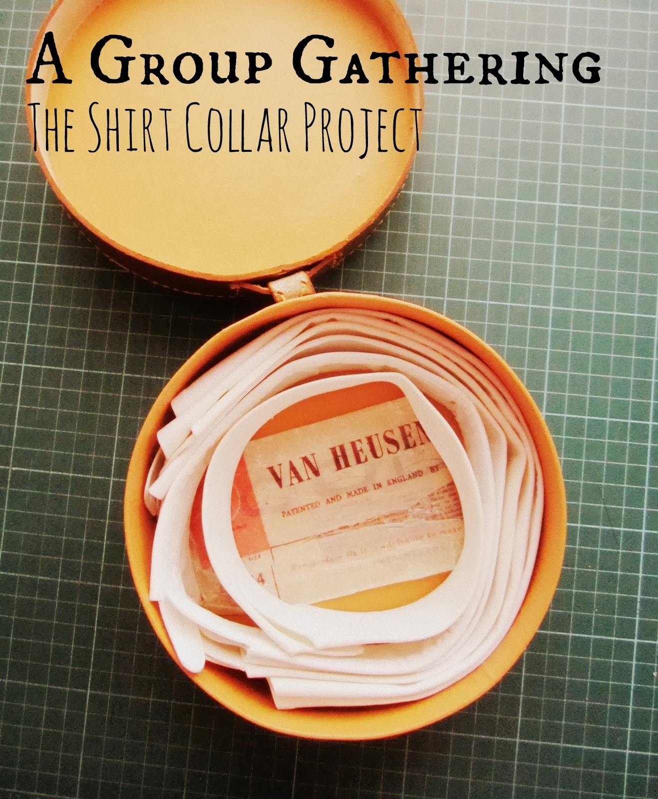 We're taking part in the Shirt Collar Project 2014