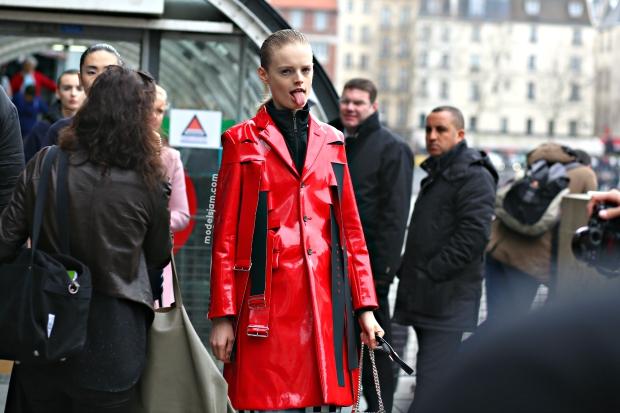Hanne Gaby, Paris, March 2015