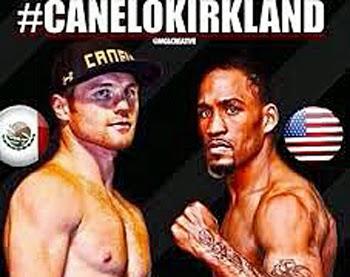 Pesaje Canelo vs Kirkland