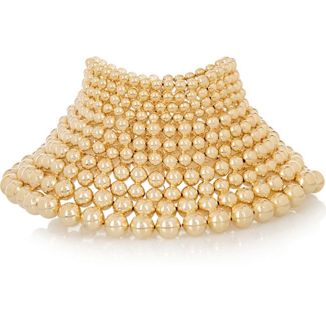 Rosantica Mille Bolle gold choker