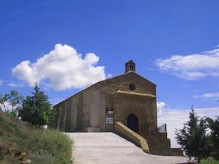 Ermita Virgen de la Bella en Castejón del Puente (Somontano, Huesca, Aragón, España)