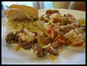 Sisters who love to cook: Kalyn's Stuffed Cabbage Casserole