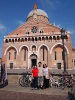 facciata basilica di Sant'Antonio a Padova