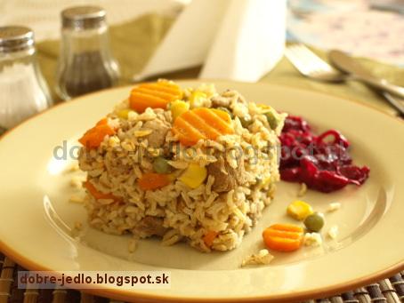 Mäsovo-zeleninové rizoto - recepty