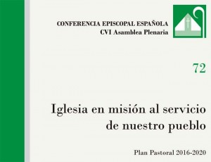PLAN PASTORAL CONFERENCIA EPISCOPAL
