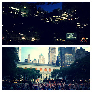 free movies nyc, nyc outdoor movies, new York city free outdoor movie series, Bryant park nyc activities, picnics in new York