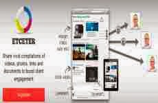Etceter: comunidad online para compartir documentos, videos, fotos, y links