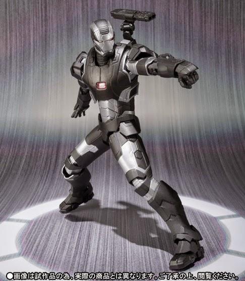avengers war machine action figure