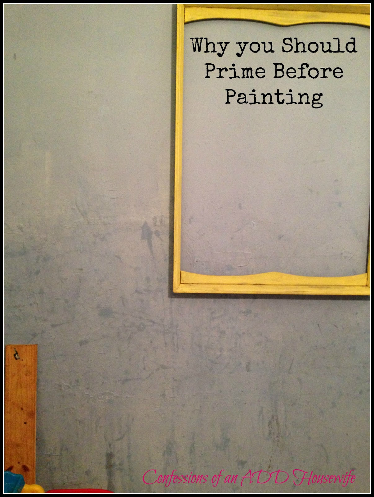 How to primed walls