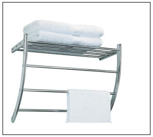 Wall Mounted Hotel Towel Rack Luxurious And Functional