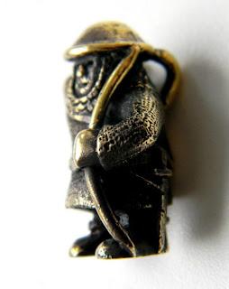 украшения из бронзы подарок латунь металлические фигурки лучник