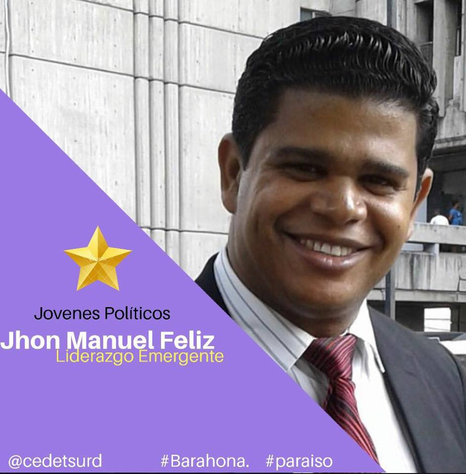 PRÓXIMO ALCALDE DE PARAÍSO-BARAHONA JHON MANUEL FELIZ (PIRO EL PELUCHE) EL HIJO DE NINO