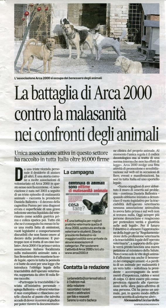 Corriere Adriatico - Arca 2000