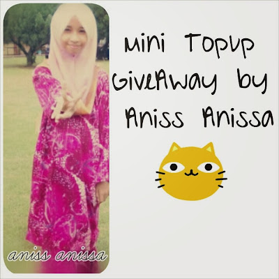 Mini Topup Giveaway by Aniss Anissa