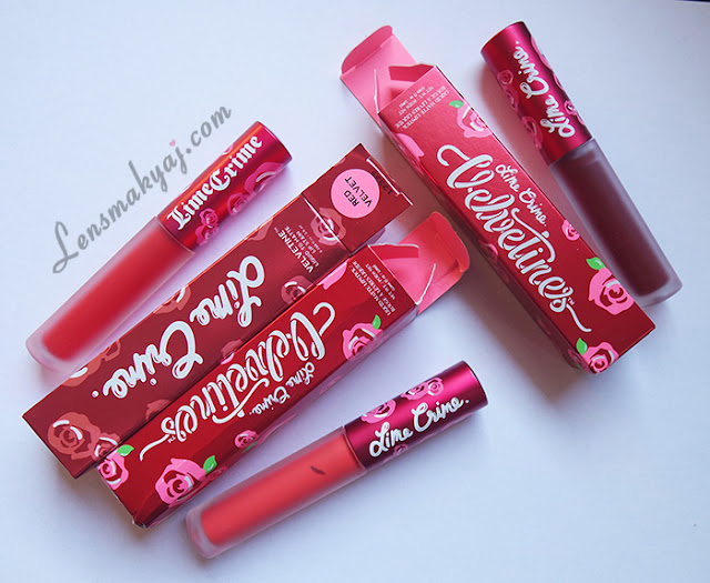 Lime Crime Velvetines