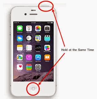 How to take a Screen Shot in Iphone