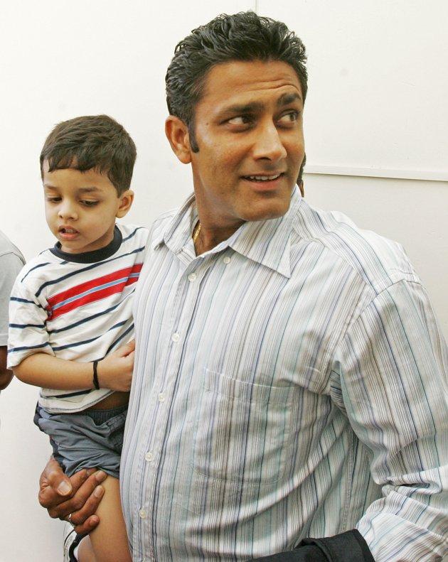 Anil Kumble's son Mayas Kumble
