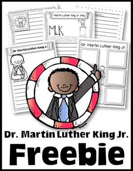 https://www.teacherspayteachers.com/Product/Freebie-to-Celebrate-Dr-Martin-Luther-King-Jr-Day-1060258