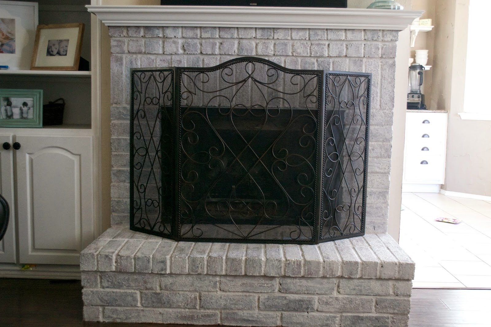 in this joyful life fireplace make over phase 2