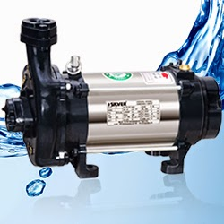 Silver Single Phase Open Well Pump M-29 (0.5HP) (Copper Rotor) Online Dealers, India - Pumpkart.com