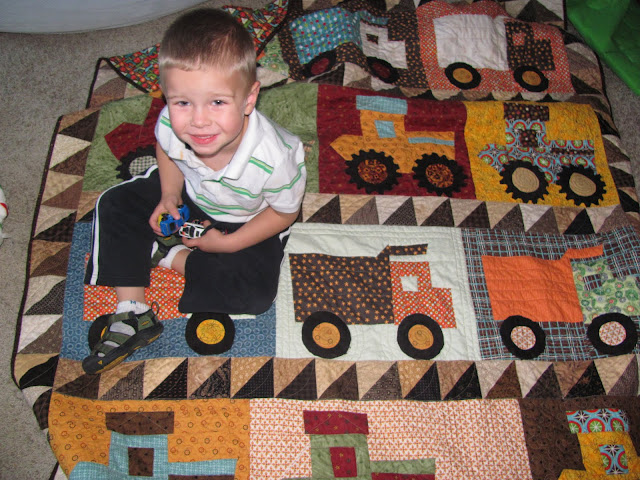 Cooles blanket ever! Thanks Grandma!!