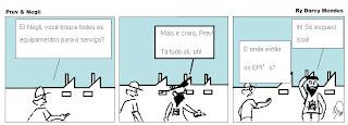 quadrinho de humor segurança do trabalho