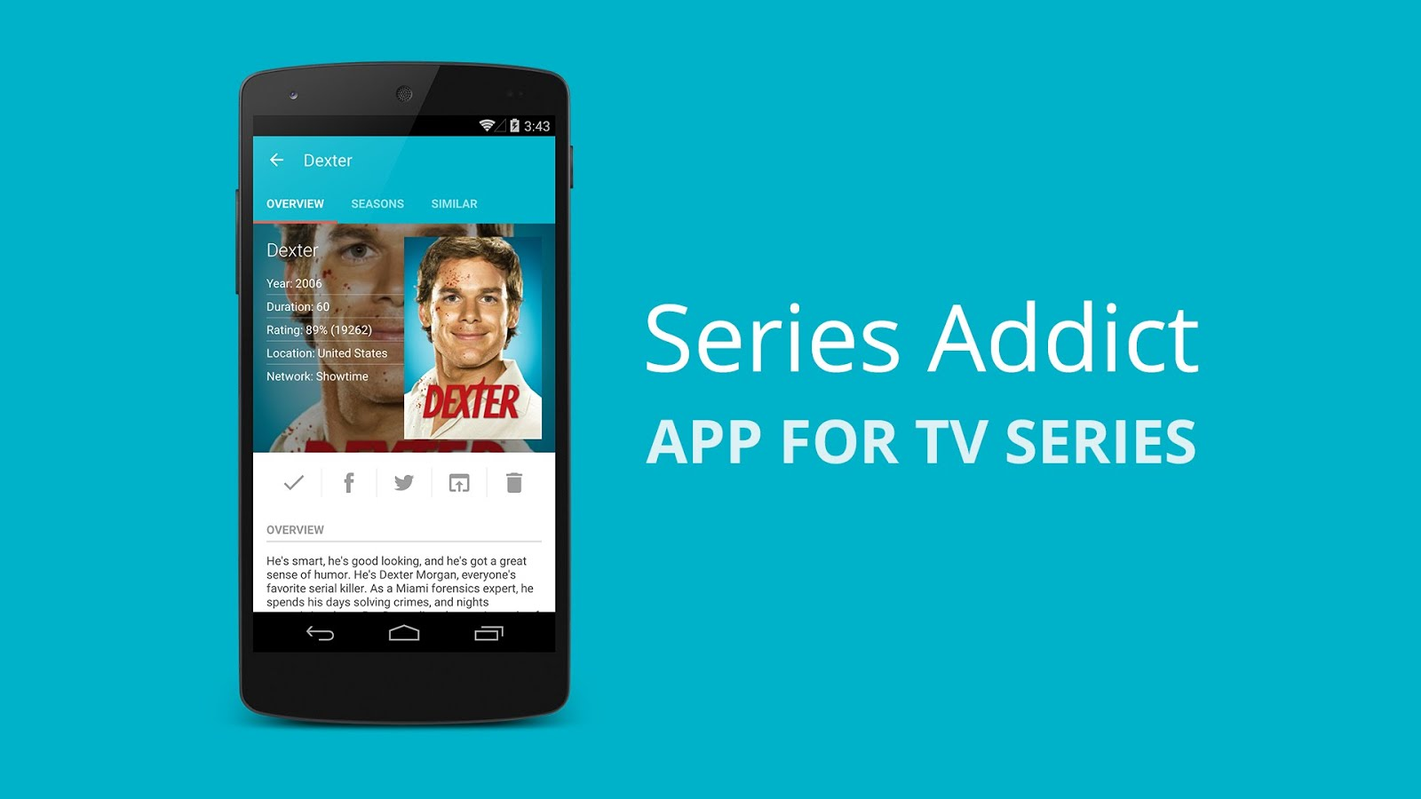 App For TV-Series Addict