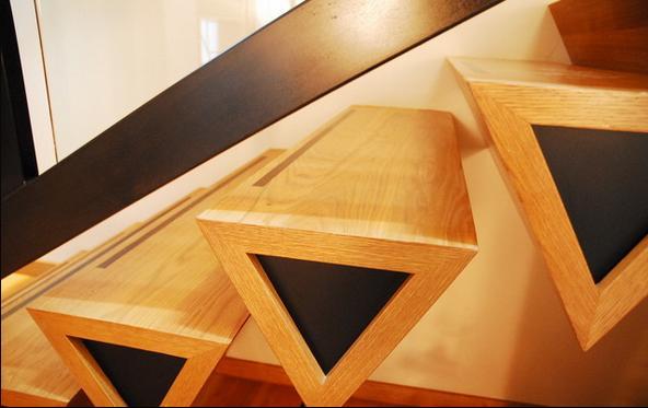 Fotos de escaleras modelos de escaleras de madera for Modelos de escaleras de madera