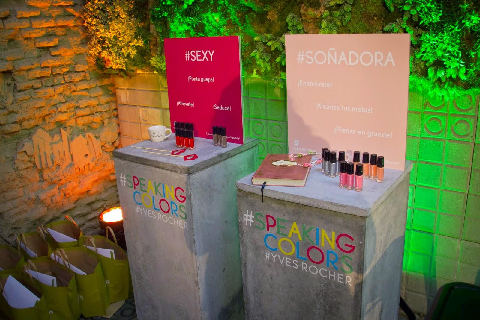 Speaking Colors, Yves Rocher, Esmaltes de Uñas, Nails Style, Beauty, Psicologia del Color, Teoria del Color, Blog de Moda