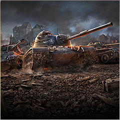 Играем взвод world of tanks blitz на троих