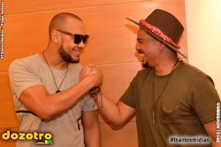 Ton Carfi e Bruno Cardoso - Foto: Tiago Santos