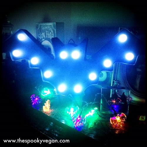 String Lights At Big Lots : The Spooky Vegan: Halloween 2015 at Big Lots